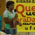 A coordenadora geral da UQ, Heloisa Buarque de Hollanda e a coordenadora pedagógica da UQ, Rosângela Gomes Crédito: Marcelo Ostachevski