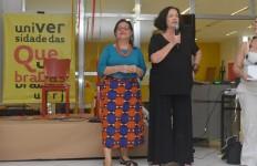 As coordenadoras gerais da UQ, Numa Ciro e Heloisa Buarque de Hollanda