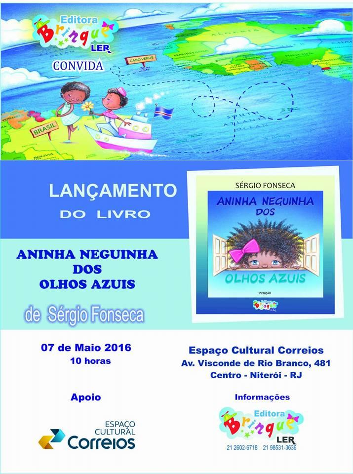 Convite do evento de publicação do livro (Crédito: Arquivo Pessoal)