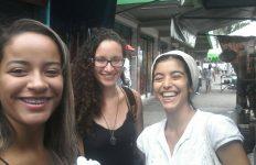 Gabrielle Maria, Elizabeth Martins e Mirila Greicy: as Meninas Quebradeiras (Crédito: Arquivo Pessoal)