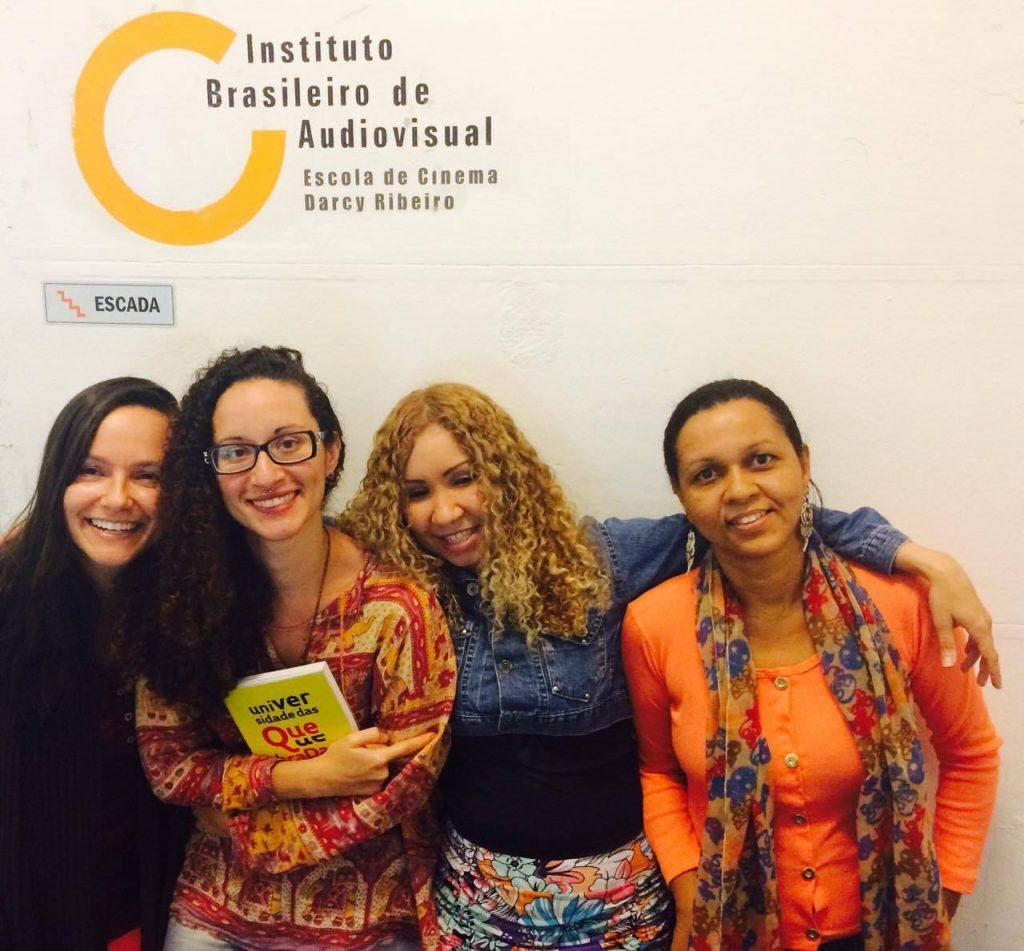 Samanta, Elizabeth, Monique e Rejane (Crédito: Arquivo Pessoal)