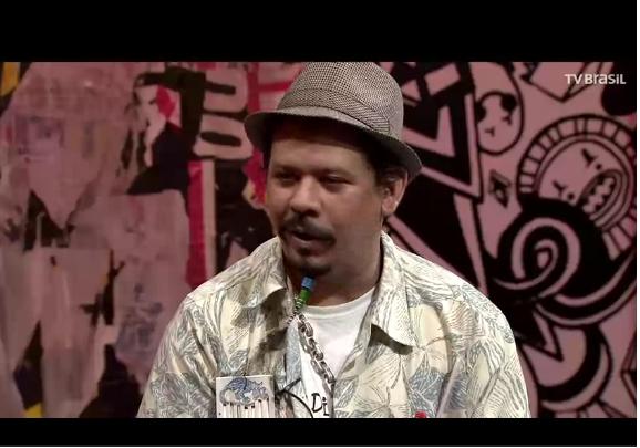 O quebradeiro Xandu Durratos no programa (Crédito: Reprodução Internet)
